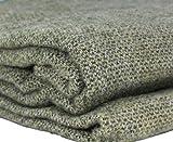 Biddy Murphy Queen Blanket 100% Soft Lambswool 90' Long x 109' Wide Traditionally Woven in Co. Kerry Ireland