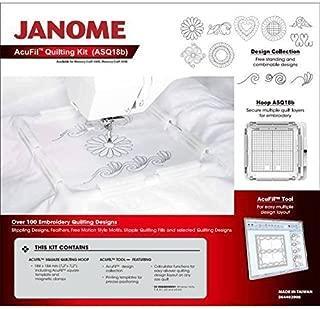 Janome Acufil Quilting Hoop Set AQS18B For MC500E/MC400E