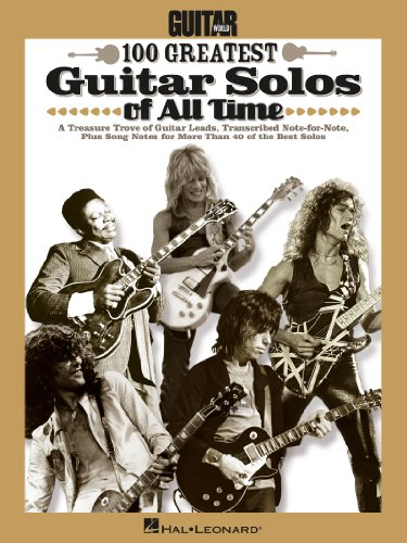 Guitar Worlds 100 Greatest Guitar Solos of All Time (English ...