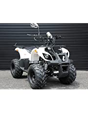 IceBear(アイスベアー) 四輪バギー ATV 50cc 前進1速バック付 ミニカー登録 公道走行可 白 HL50BW 西濃運輸支店止発送 宅配便対応できません。