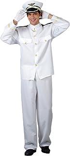 Naval Officer - Mens Adult Costume Men : LARGE