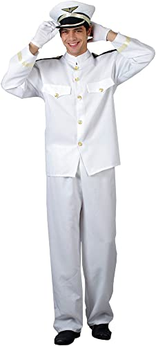 Naval Officer - Mens Adult Costume Men   SMALL