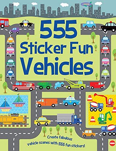 Mayes, S: 555 Sticker Fun Vehicles
