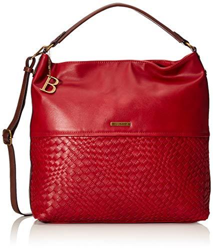 Bulaggi Bryon Hobo - Borse a spalla Donna, Rosso (Rot), 11x36x36 cm (B x H T)