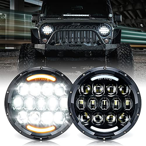 Xprite 105W CREE LED Headlights with...