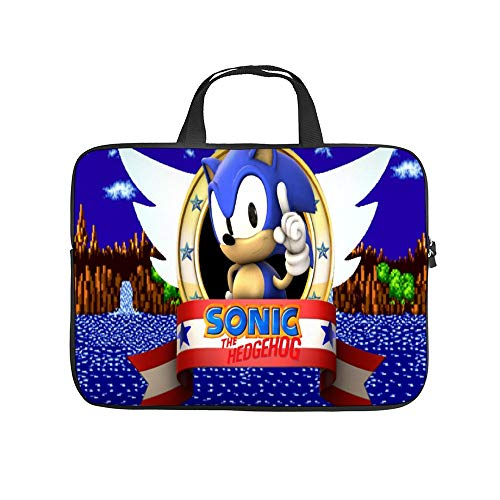 Universal Laptop Computer Tablet,Pouch,Cover for, Apple/MacBook/HP/Acer/Asus/Dell/Lenovo/Samsung, Laptop Sleeve,SSO-nic The Hedgehog Genesis,15inch/39.2x28x1.5cm