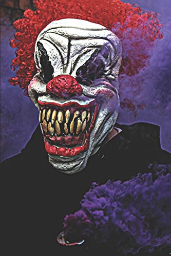 Creepy Clown Journal: Journal Notebook with blank lined pages for Creepy Clown Lovers