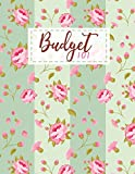Budget 101: Home Finance and Bill Organizer with List of Income , Monthly - Weekly Expenses | Simple Vintage Floral Design (Budget Spreadsheet)