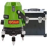FUKUDA|フクダ フルライン グリーンレーザー墨出し器 EK-436GJ リチウム電池×2本 7ライン 7ドット 縦×4 横全周 レーザーレベル【1年間保証】