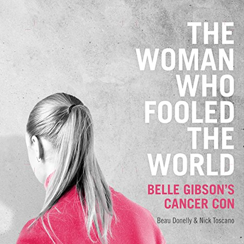 The Woman Who Fooled the World audiobook cover art