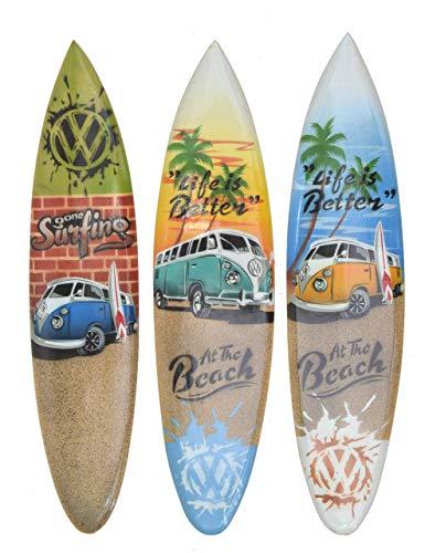 Interlifestyle 3 Decoración Tabla de Surf 40cm con T1 Autobús Motivos Tablas de Surf Im Paintbrush Buscar