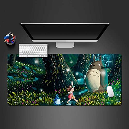 NZTCRFP Alfombrilla De Ratón Gaming Gato De Dibujos Animados De Bosque Alfombrilla...