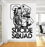DC Harley Quinn et Joker Comics Suicide Squad Task Force X Art Mural Autocollant/Autocollant