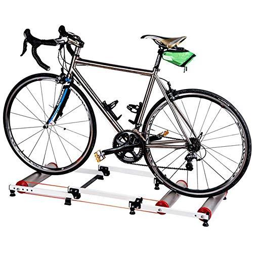 JTYX Rodillo magnético de Ciclismo Bicicleta Turbo Trainer Convierte El Ciclo En Fitnes Bicicleta De Entrenamiento De Ejercicio Entrenador Casero Rodillos De Entrenamiento De Bicicleta Plegables