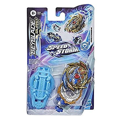 Beyblade Burst Surge Speedstorm Super Hyperion H6 Kreisel Starter Pack – Angriffs-Typ Battle Kreisel mit Starter, Spielzeug für Kinder