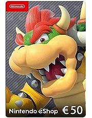Nintendo eShop Card   50 EUR Guthaben   Download Code