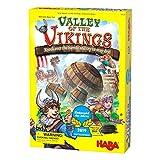 HABA 305338 - Tal der Wikinger - 2019 Kinderspiel des Jahres Gewinner - Ein Taktisches Spiel ab 6 Jahren - Englische Version (Made in Germany)