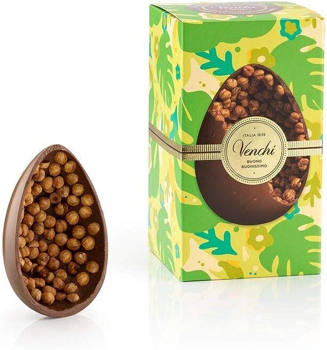 Uovo di cioccolato al latte gran nocciolato piemonte 540g B085RYTTK9