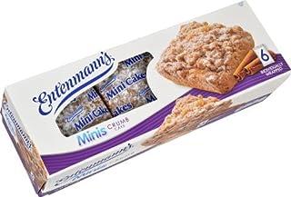 Entenmann's Mini Crumb Cake Bundle (1 Mini Crumb Cake amd 1 Box Crumb Donut) BONUS 1 FREE ENTENMANN'S CRUMB CAKE INDIVIDUALLY WRAPPED