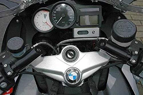 Kit de conversión de manillar y elevador de manillar con desplazamiento 85 mm más cercano ABE para BMW K1200S año de fabricación 2007 – 2008