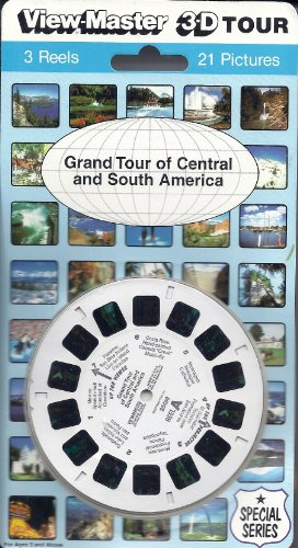 View Master Grand Tour of Central and South America 3d 3 Reel Set