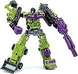 Optimus Prime Spielzeug Transformer devastator acción figura robot juguete, héroe rescate combate vehículo tecnología robot, rastrero sweeper bulldozers ganchos mecánico de remolque Transformers Optim