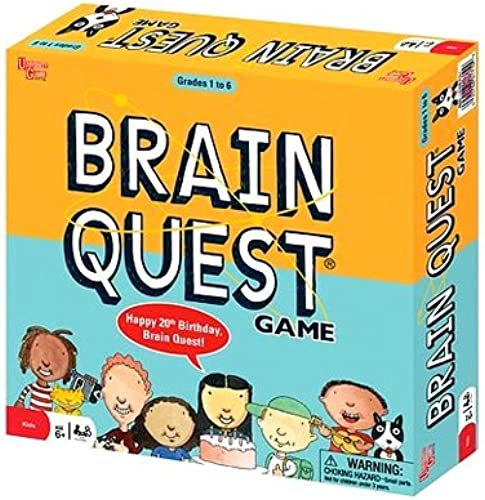 Brain Quest 20th Anniversary by University Games