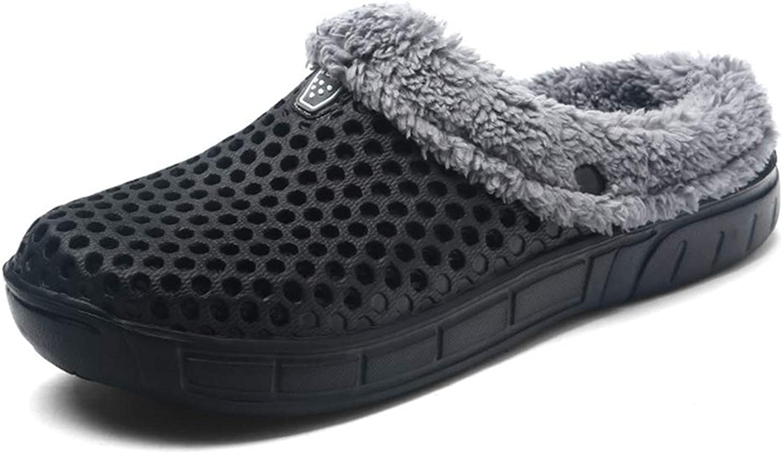 Women Winter Home Slippers Plush Warm Non-Slip Clog Woman Indoor Ladies Fur Slides Female shoes