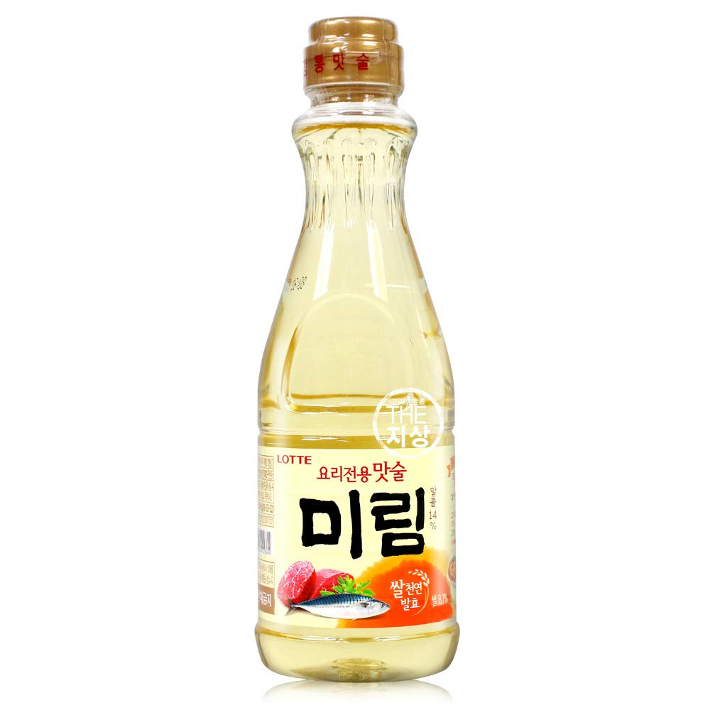 Amazon Com Lotte Korean Cooking Rice Wine Mirin 900ml 1 Pack Grocery Gourmet Food