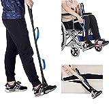 DYWOZDP Oberschenkel und Bein Lifter Strap, Bein und Fuß Aufzug Gürtel für ältere Menschen Lifting Beine Straps für Senioren, Erwachsene, Handicap, Behinderung Lifters Fuß mit Handgriff -