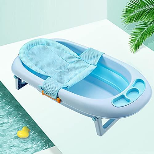 Lontg - Asiento de baño para bebé, cómodo, cojín para bañera de...