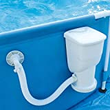 Summer Waves 600 Gallons SkimmerPlus Filter Pump System for Above Ground Pools