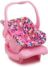 صندلی ماشین اسباب بازی عروسک - نقطه صورتی