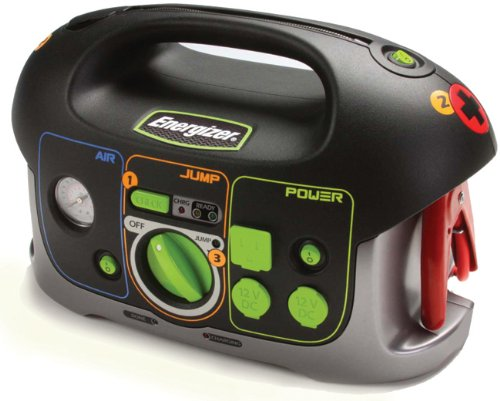 Buy Energizer 84020 12V All-In-One Jump-Start System with Built-In Air Compressor and Power Inverter