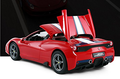 1/14 Scale Ferrari 458 Speciale A Radio Remote Control Model Car R/C RTR Auto Open & Close Roof Convertible Push Button