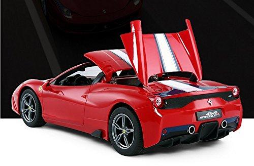 1/14 Scale Ferrari 458 Speciale A Radio Remote Control Model Car R/C RTR Auto Open & Close Roof Convertible Push Button