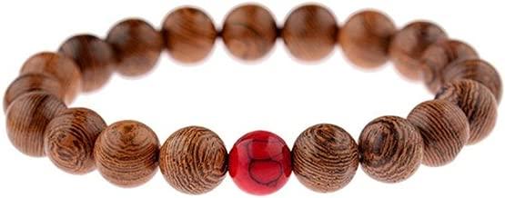 2019 Fashion Men 10MM Wood Beaded Bracelet Men Ethnic Buddhism Natural Stone Bangles For Women Prayer