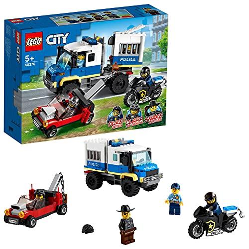 LEGO 60276 City Polizei Gefangenentransporter Spielzeug, Polizeistation, Erweiterungsset
