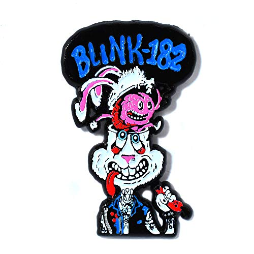 Blink-182 Bunny Travis Barker Tattoo Art Collectible Pendant Lapel Hat Pin