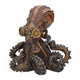 Nemesis Now Octo-Steam - Figura Decorativa (19 cm), Color Bronce