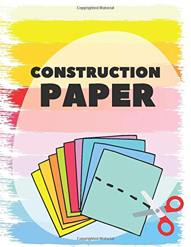 Construction paper: Coloured paper ideal for origami | Use what you want - draw, cut, create | Colorful