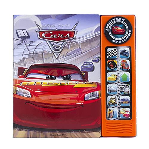 Disney Pixar Cars 3 - 13-Button Sound Book - PI Kids (Play-A-Sound)
