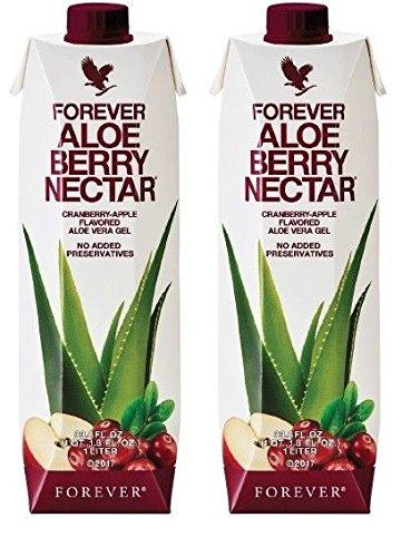 Forever Aloe-Beeren-Nektar, 2 Stück