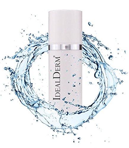 idealderm REPAIR Feuchtigkeitscreme für Gesichts mit 10% Urea (Harmstoff) ideal bei Neurodermitis, Psoriasis, Ichthyosis, trockener & juckender Altershaut, kranker Haut, nach Peeling Behandlungen