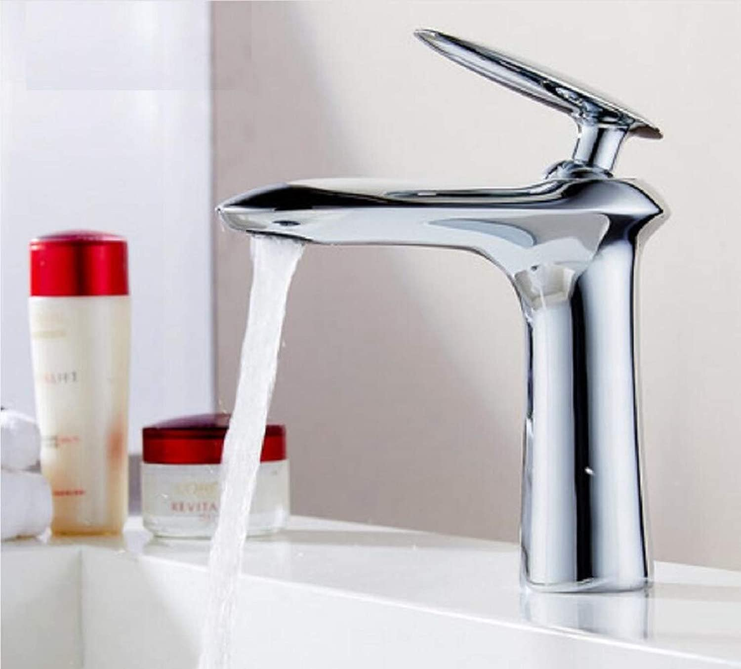 Bathroom Taps?Main Cold and Hot Basin Single Hole Single Stand Up Platform Basin European Style Faucet Bathroom Sink Tap Basin Sink Mixer Tap