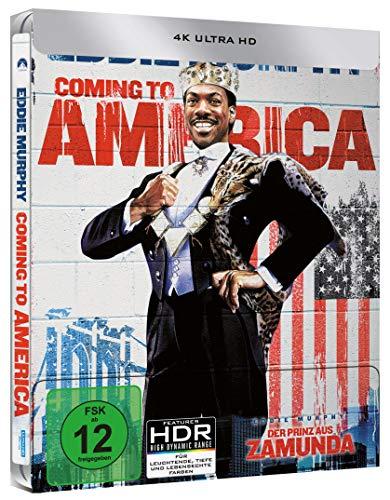 Der Prinz aus Zamunda - Limited Steelbook [4K UHD] [Blu-ray]