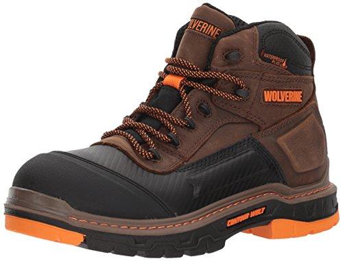 """Wolverine Men's Overpass 6"""" Soft Toe Waterproof Work Boot"""