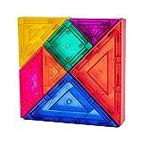 NUOBESTY Niños Magnético Tangram Puzzle Forma Bloques Jigsaw Brain Teasers Apilamiento Juegos Temprano Juguete Educativo para Niños Regalo