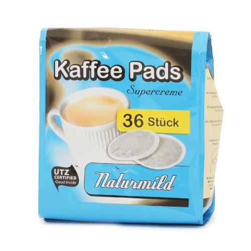 Cafeclub Supercreme Kaffeepads Milde Röstung 36 st