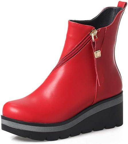 AdeeSu SXC03511, SXC03511, SXC03511, Sandales Compensées Femme - Rouge - rouge, 36.5 760